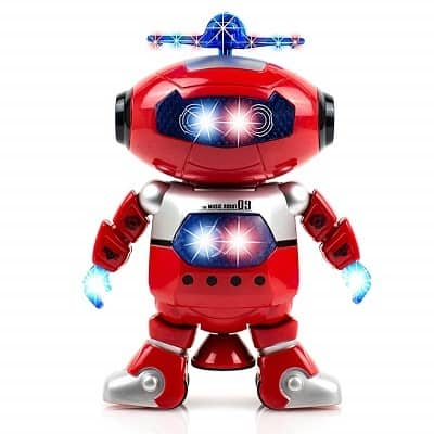 Alagoo electronic toy robot walking dancing singing robot