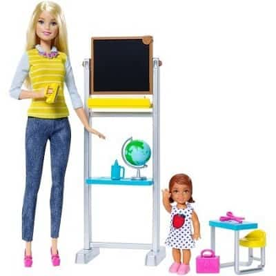 Barbie Teacher Doll And Playset