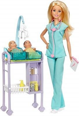 Barbie careers baby doctor play set