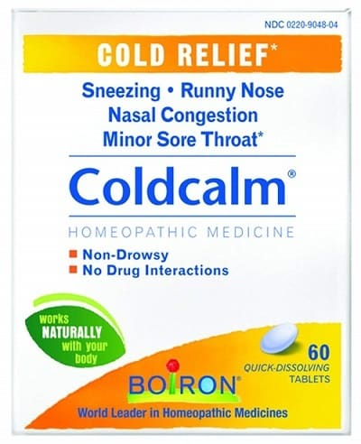 Boiron Coldcalm Tablets