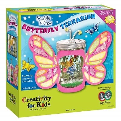 Creativity for Kids Sparkle N Grow Butterfly Terrarium