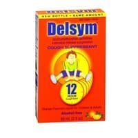 Delysm Children 12 Hr Cough Relief Liquid Orange
