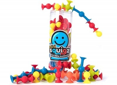 Fat Brain Toyz Mini Squigz Starter Set