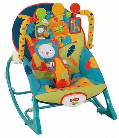 Fisher-Price Infant-To-Toddler Rocker Dark Safari