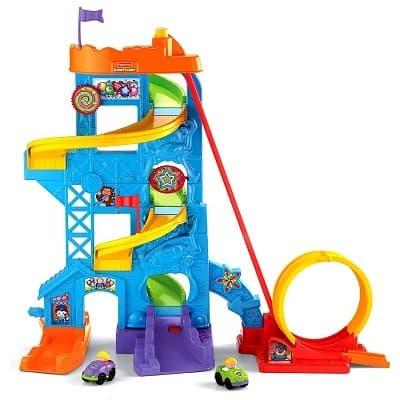 Fisher Price Little People Loops n Swoops Amusement Park