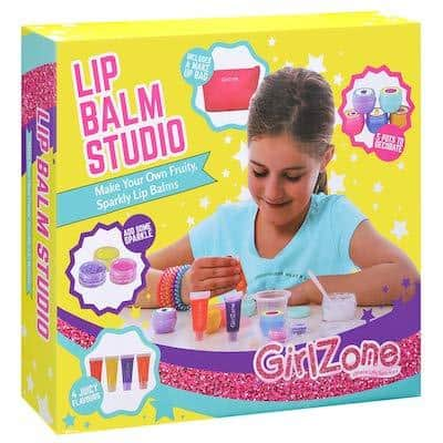 GirlZone Gifts Girls- Make Your Own Lip Balm Kit