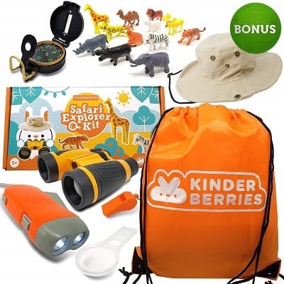Kids Explorer Kit for Outdoor Adventures by KinderBerries