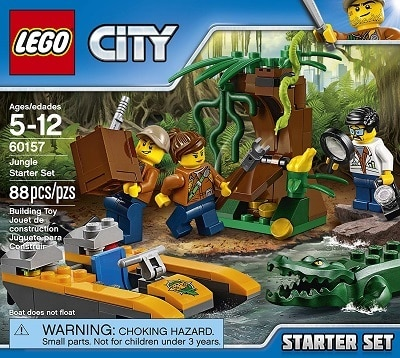 LEGO City Jungle Starter Building Blocks