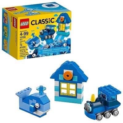 LEGO Classic Blue Creativity Building Blocks for Kids