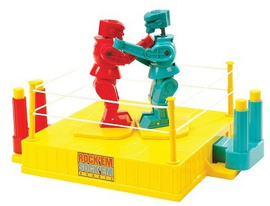 Mattel Games ROCK EM SOCK EM Robots Game