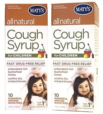 Matys Organic Childrens Cough Syrup