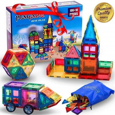Mega Magnetic Building Blocks Set