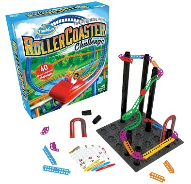 Think Fun Roller Coaster Challenge STEM Toy Building Game