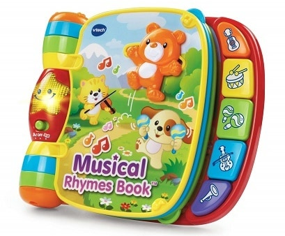 VTeach Musical Rhymes Book
