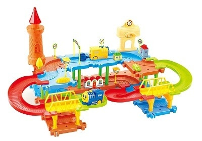 Webby Educational Kids Building Block Train