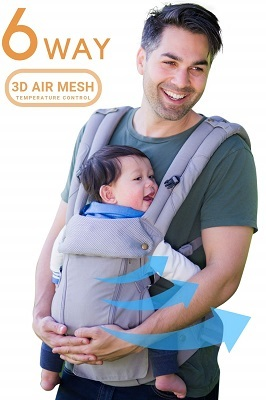 360 Ergonomic Baby Carrier All Season Baby Sling