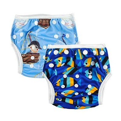 ALVABABY Boys and Girls Swim Diapers