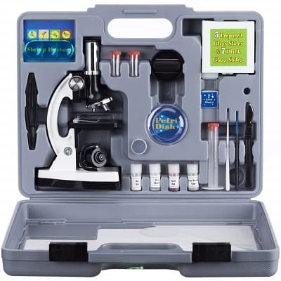 AMSCOPE Kids M30 ABS KT2 W Microscope Kit