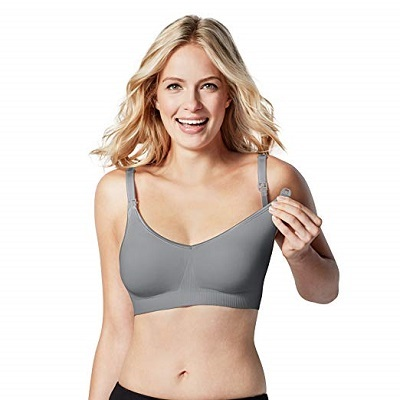 BRAVADO DESIGNS Womens Body Silk Seamless Nursing Bra and Maternity Bra