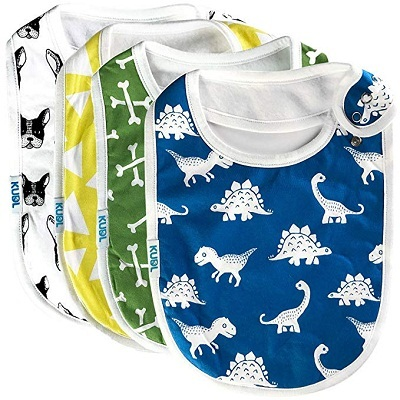 Baby Bibs with snap button
