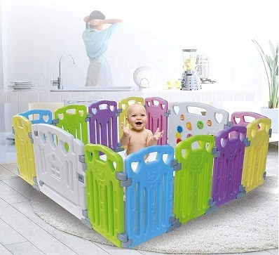 Baby Playpen Kids Activity Centre Safety Play Yard Home Indoor Outdoor