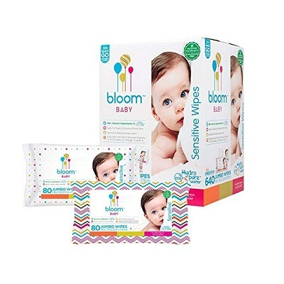 Bloom Baby Sensitive Baby Wipes