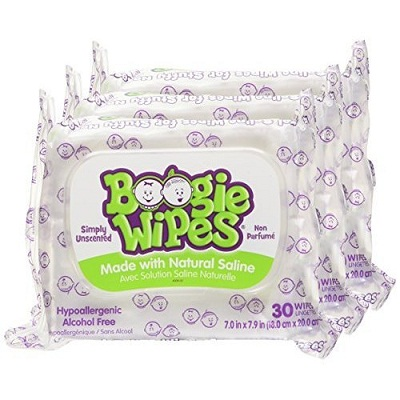 Boogie Sensitive Moisturizing Wipes