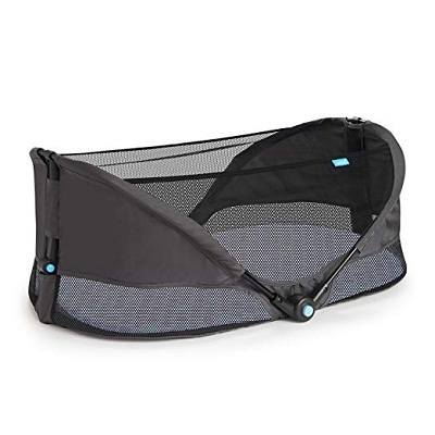 4. Brica Fold N' Go Travel Bassinet