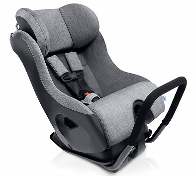 Clek Fllo Convertible Baby and Toddler Car Seat Rear and Forward Facing with Anti Rebound Bar Thunder 2018