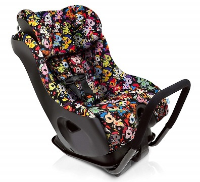 Clek Fllo Convertible Baby and Toddler Car Seat Rear and Forward Facing with Anti Rebound Bar Tokidoki Unicorno Disco 2018