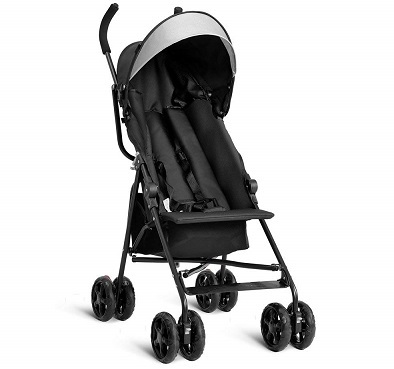 Costzon Lightweight Umbrella Baby Stroller Toddler Travel Sun Canopy with Storage Basket