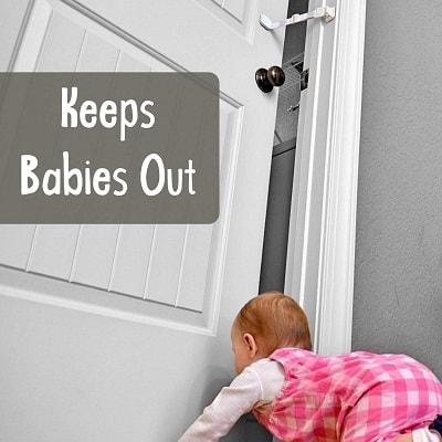 Door Buddy Baby Proof Door Lock with Adjustable Strap