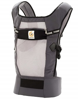 Ergobaby Original Cool Air Mesh Performance Ergonomic Multi-Position Baby Carrier