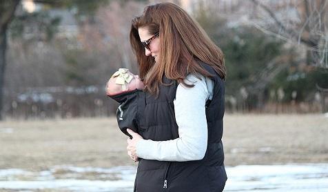Extendher Maternity Coat Alternative Jacket Extender Lined With Polartec PowerDry