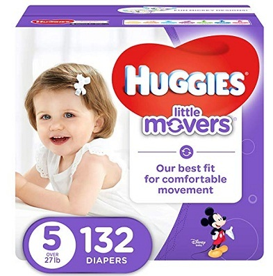 Huggies Little Movers- Active Baby Diapers