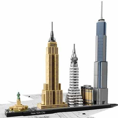 LEGO Architecture New York City 21028 Skyline Collection Building Blocks