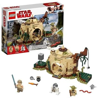LEGO Star Wars The Empire Strikes Back Yodas Hut 75208 Building Kit 229 Pieces