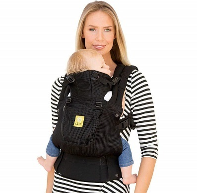 LILLEbaby The COMPLETE Airflow SIX Position 360 deg Ergonomic Baby and Child Carrier