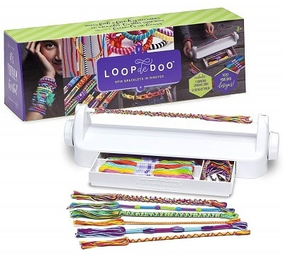 Loopdedoo Spinning Loom Friendship Bracelet Maker