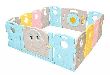 Ndotos Baby Playpen - 14 Panel Safety Play Yard - Kids Activity Center