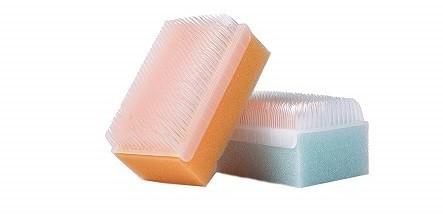 Scalp Scrubbie 3 pk Sterile Sponge Scrub Bristle Brush