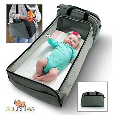 Scuddles 3 in 1 portable bassinet