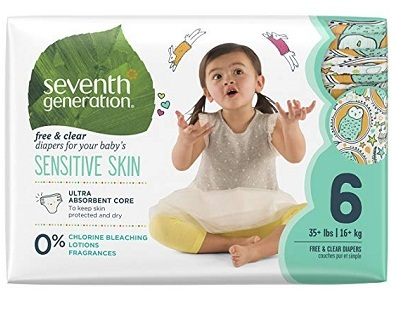 Seventh Generation Free Sensitive Skin Diapers