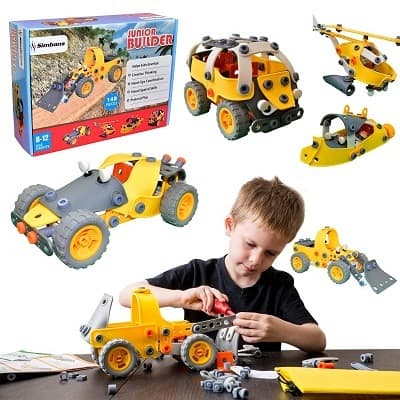 Simbans JB 148 pcs 5 in 1 Build and Play Toy Set