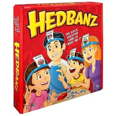 Spin Master Games HedBanz Game
