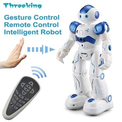 Threeking Smart Robot Toys Gesture Control Remote Control Robot JJRC