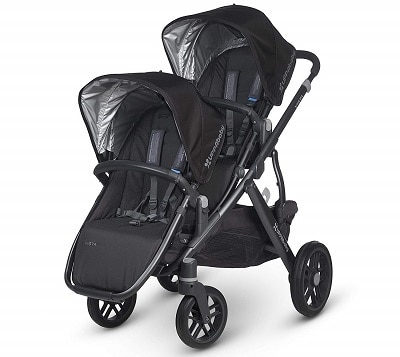 UPPABABY 2015 VISTA STROLLER WITH RUMBLE SEAT