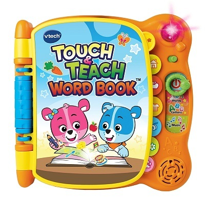 V TECH TOUCH AND TEACH WORD BOOK