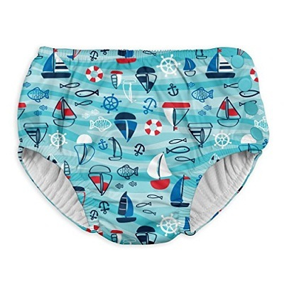 iplay Baby  Snap Reusable Absorbent Swimsuit Diaper
