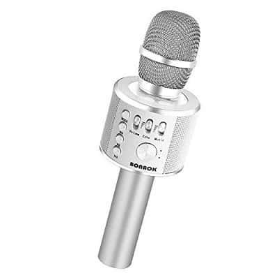 BONAOK Wireless Karaoke 3-in-1 Portable Handheld Karaoke Machine